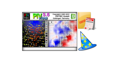 PIV post-processing software PIVview | ILA_5150